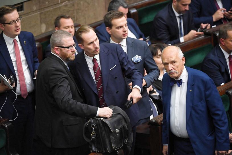 Posłowie Konfederacji /Radosław Pietruszka /PAP