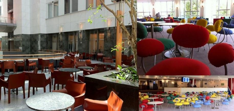 Posłowie mają do wyboru kilka restauracji na terenie PE /Katarzyna szymańska- Borginion  /RMF FM