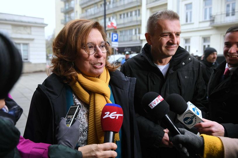 Posłowie PO Małgorzata Kidawa-Błońska i Bartosz Arłukowicz / Radek Pietruszka   /PAP