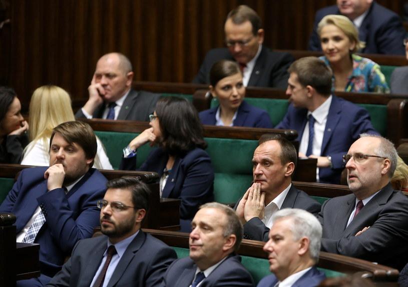 Posłowie podczas inauguracji Sejmu /Paweł Supernak /PAP