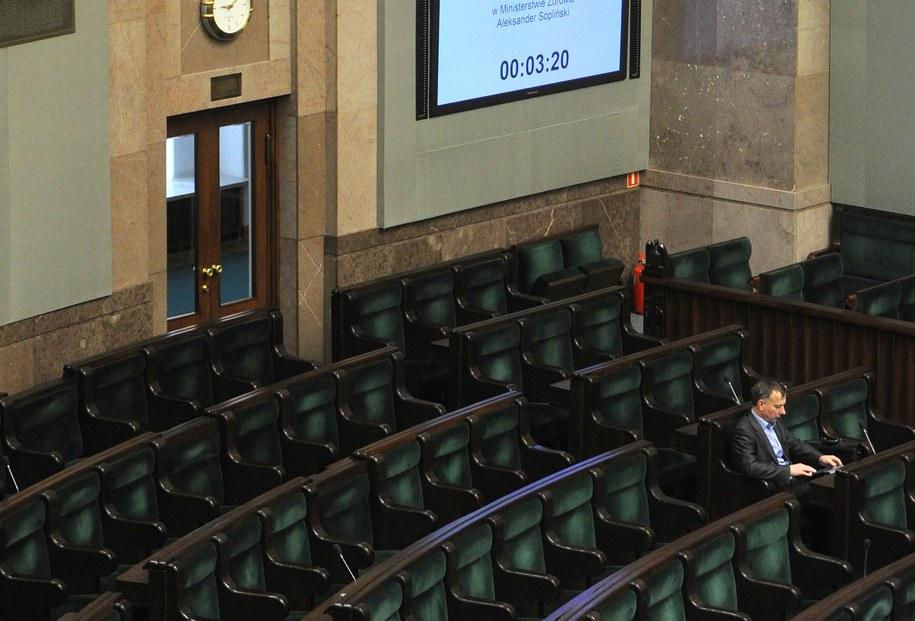 Posłowie uchwalili ustawę o prawach konsumenta /Grzegorz Jakubowski /PAP