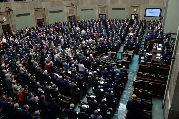 Posłowie w ostatnim dniu posiedzenia Sejmu /PAP