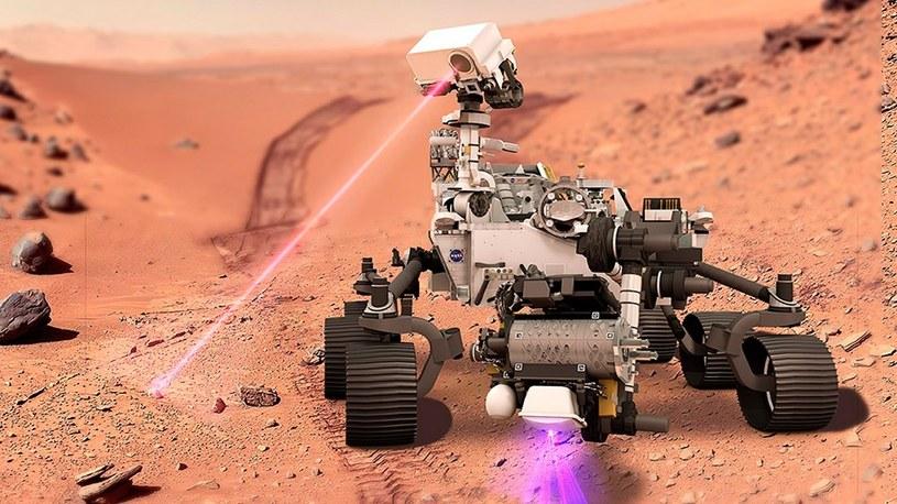 Posłuchaj, jak łazik Perseverance strzela laserami na Marsie. NASA ujawnia nagrania /Geekweek