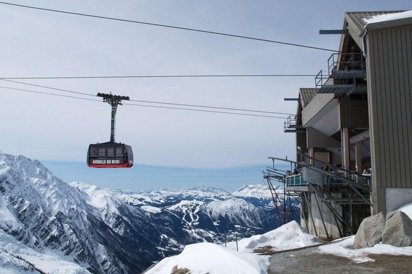 Pośrednia stacja kolejki w Chamonix. /fot. Łukasz Jóźwiak /East News