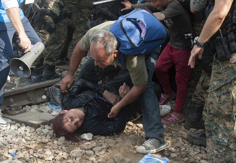 Postawa UE ws. uchodźców hańbą /AFP