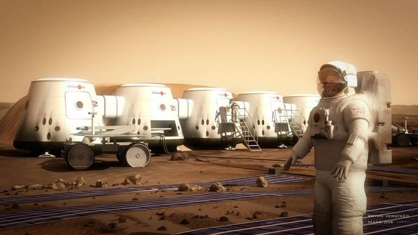 Postawić choć jeden krok na Marsie - o tym marzą uczestnicy projektu Mars One /materiały prasowe