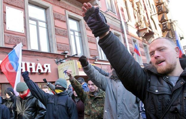 Postawy nacjonalistyczne są w Rosji coraz bardziej popularne /AFP