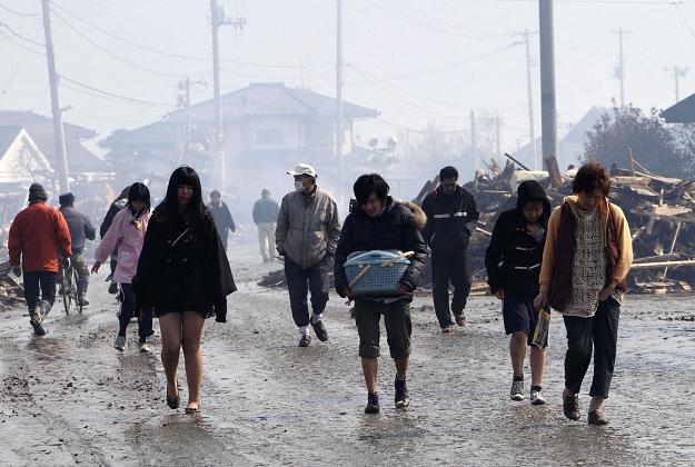 Poszkodowani w prefekturze Miyagi /AFP