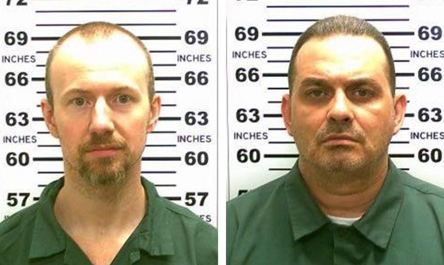 Poszukiwani, niebezpieczni więźniowie / NEW YORK STATE POLICE / HANDOUT    /PAP/EPA