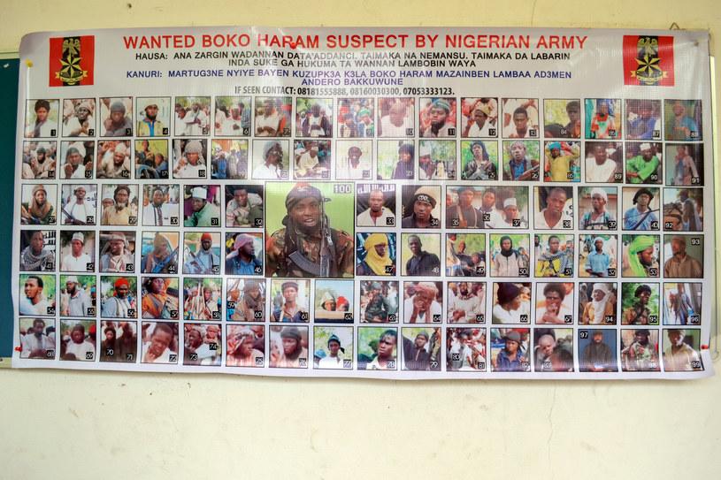 Poszukiwani terroryści z Boko Haram /AFP
