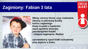 """Poszukiwania 3-latka: """"Fabianek jest ze mną"""""""