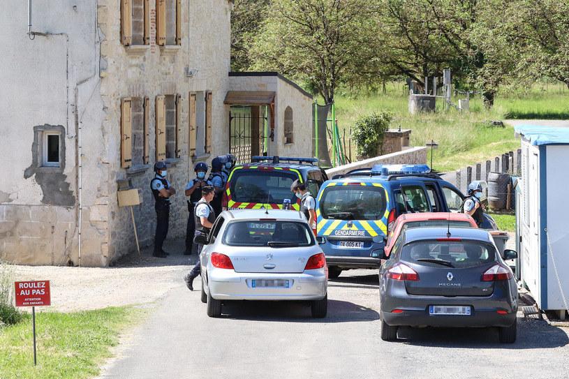 Poszukiwania byłego żołnierza trwały od niedzieli /Diarmid COURREGES /AFP