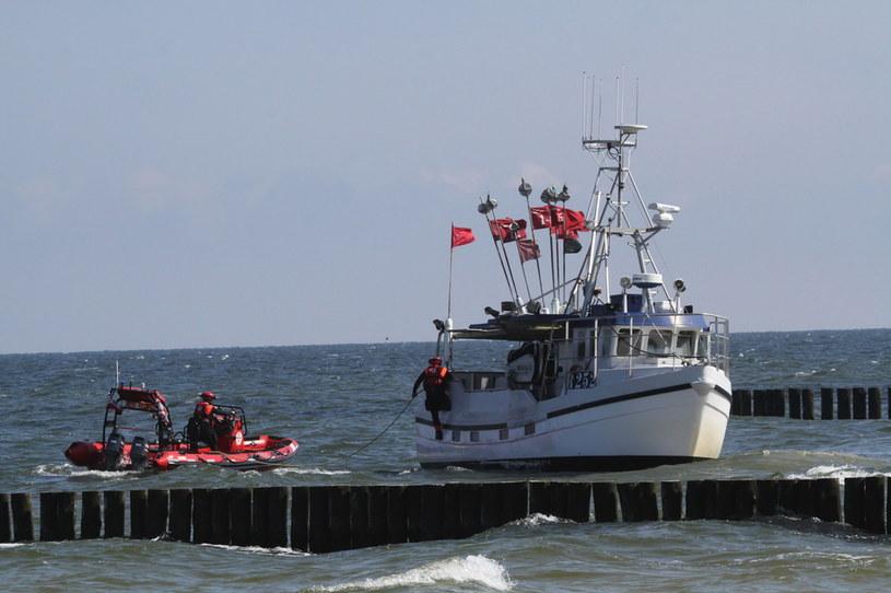 Poszukiwania duńskiego rybaka na Bałtyku /PAP