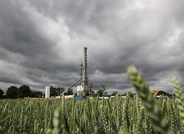 Poszukiwania gazu łupkowego w okolicach Lęborka /fot. Michał Fludra