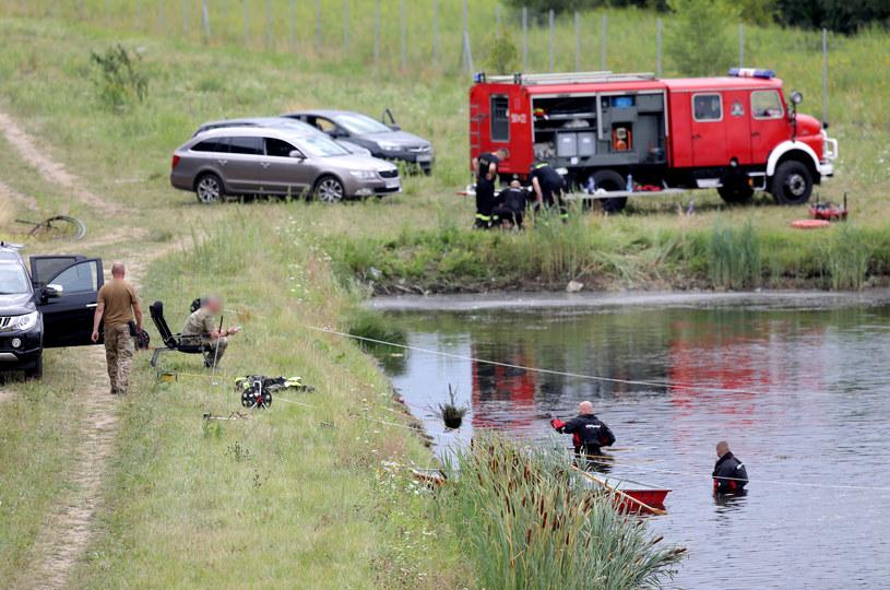 Poszukiwania narzędzia zbrodni /Piotr Molecki /East News