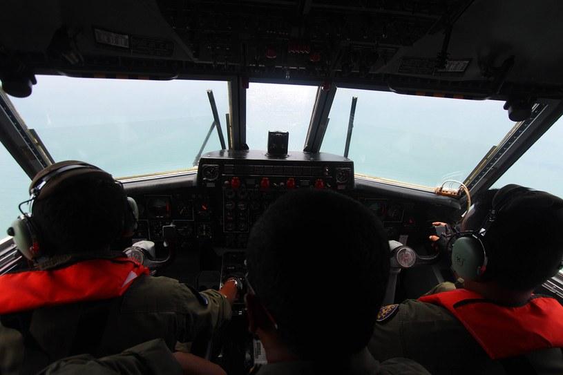 Poszukiwania zaginionego samolotu /AFP