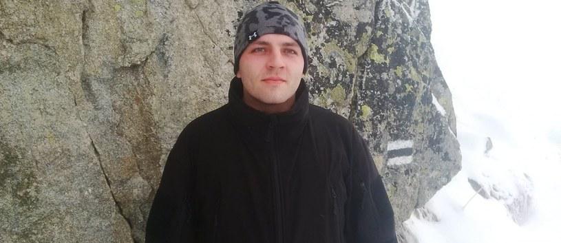 Poszukiwany 25-letni Michał Kaczmarek /RMF/Policja