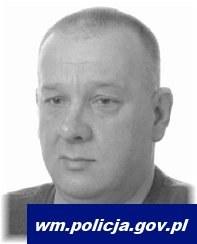 Poszukiwany 51-letni Cezary Fiertek /Warmińsko-Pomorska Policja /Policja