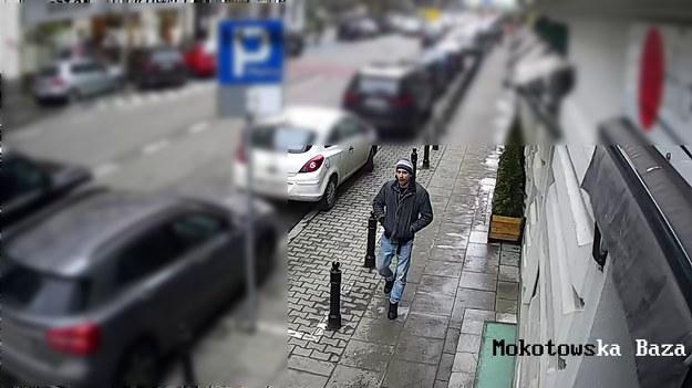 Poszukiwany mężczyzna /policja.waw.pl /