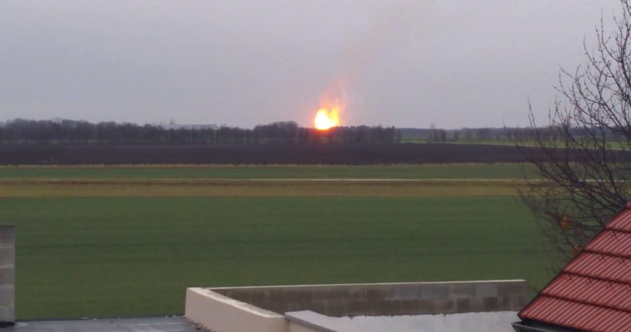 Potężna eksplozja na terenie największego w Austrii terminala gazowego