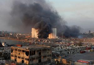 Potężna eksplozja w Bejrucie. Rośnie bilans ofiar i rannych