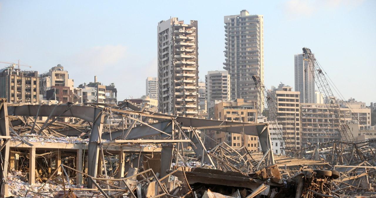 Potężna eksplozja w Libanie. Zniszczenia są gigantyczne
