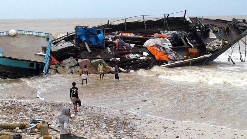 Potężny cyklon w Jemenie /STRINGER /PAP/EPA