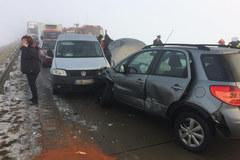 Potężny karambol na Dolnym Śląsku. Rozbiło się ponad 20 aut
