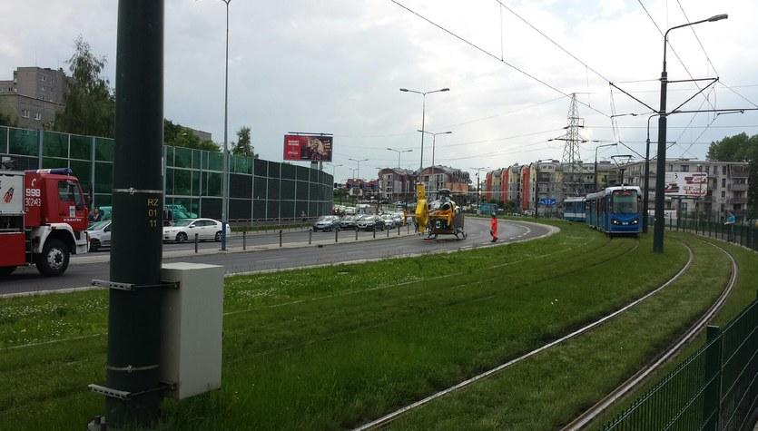 Potężny karambol w Krakowie. Uszkodzonych kilkanaście aut