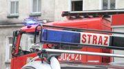 Potężny pożar hali w Radomiu