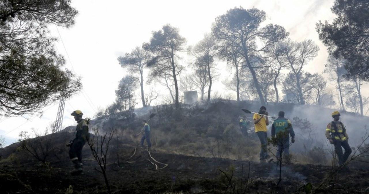 Potężny pożar w Katalonii. Setki ewakuowanych