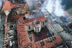 Potężny pożar w uzdrowisku w Szczawnie-Zdroju