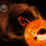 Potężny superrozbłysk z sąsiedniej gwiazdy