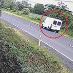 Potrącił rowerzystę i uciekł. Policja szuka sprawcy [FILM]