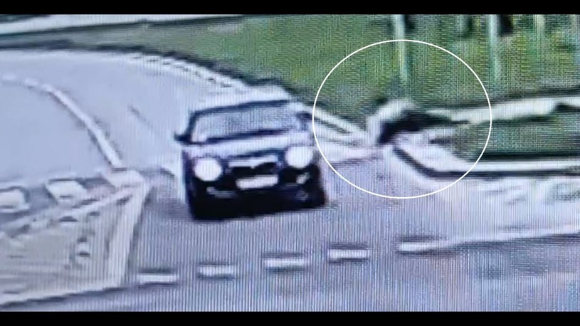 Potrącił rowerzystę i uciekł /lubelska.policja.gov.pl /materiały prasowe