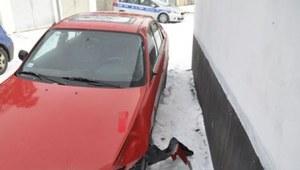 Potrącił, uciekł i zgłosił kradzież samochodu