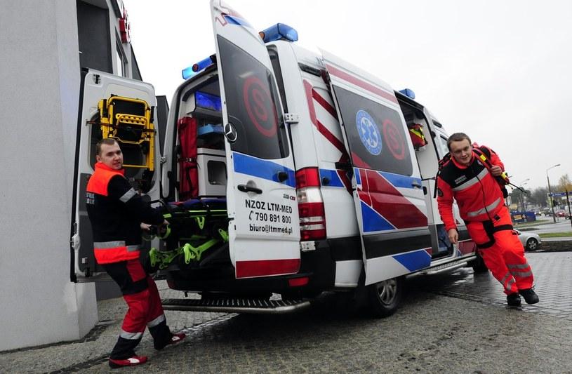 Potrącona kobieta została przewieziona do szpitala (zdjęcie ilustracyjne) /Paweł Skraba /Reporter
