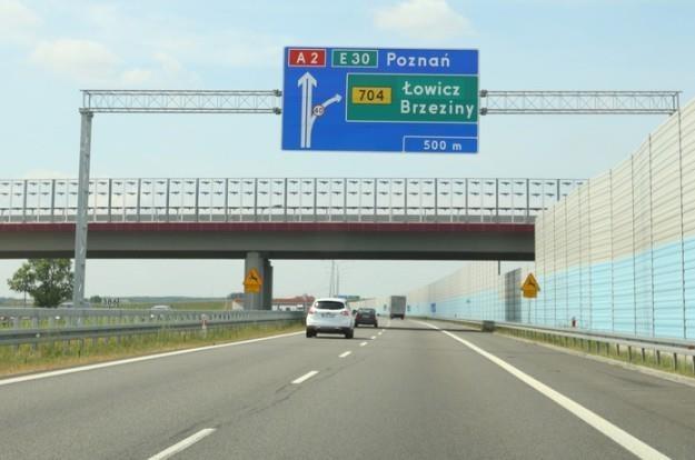 Potrafisz jeździć autostradą? / Fot: Stanisław Kowalczuk /East News