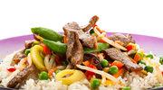 Potrawka z wieprzowiny z ryżem