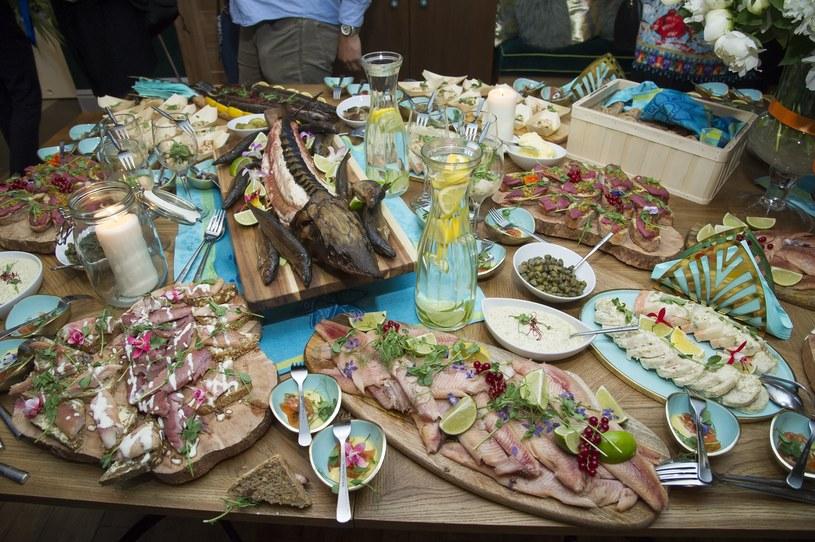 Potrawy na otwarciu restauracji /Przemek Świderski /East News
