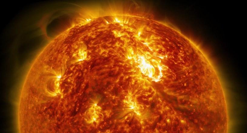 Potwierdzono, że młode Słońce wykazywało się dużą aktywnością /NASA