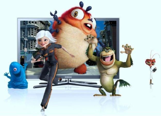 """""""Potwory kontra Obcy"""" - jedna z pierwszych domowych produkcji 3D, którą promował Samsung /HDTVmania.pl"""