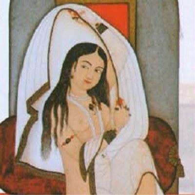 Powabna indyjska kochanka, namalowana w XVIII wieku /Archiwum