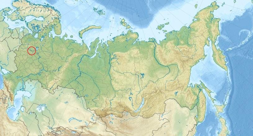 Powarowo, lokalizacja pierwszego nadajnika UVB-76 /Wikipedia Commons /domena publiczna