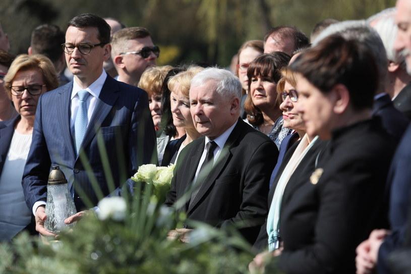 Powązki, 10 kwietnia 2018 roku / Leszek Szymański    /PAP