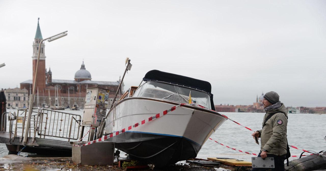 Poważne straty w Wenecji. Zalany plac św. Marka