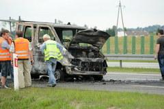 Poważny wypadek na A1, 8 osób jest rannych