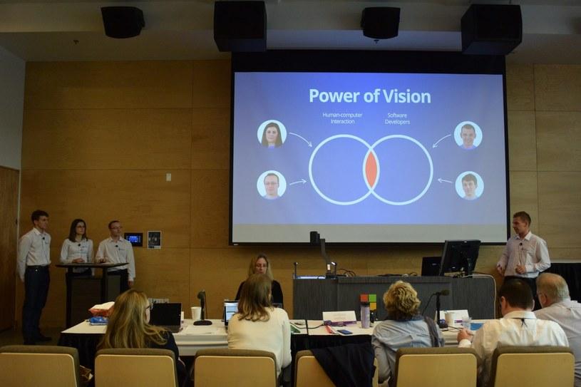 Power of Vision z Politechniki Rzeszowskiej - finałowa prezentacja przed jury w Seattle. Czy Polacy zwyciężą? /INTERIA.PL