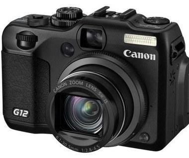 PowerShot G12 - król kompaktów Canona