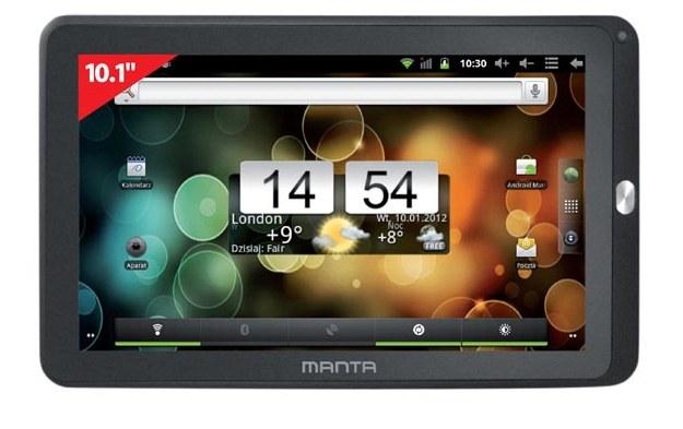 PowerTab X MID06 - jedyny z opisywanych modeli posiadający ekran o przekątnej 10 cali /materiały prasowe